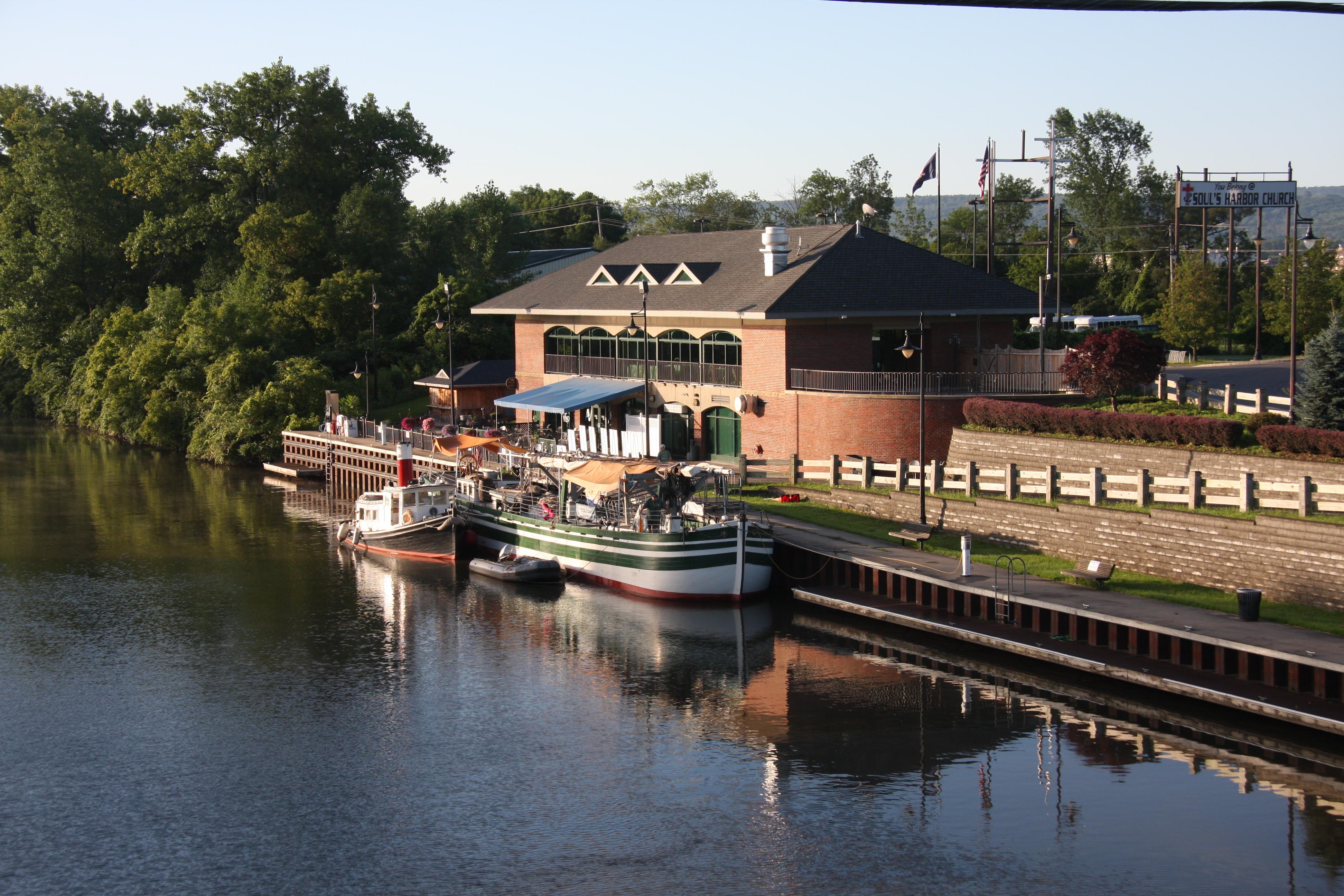 Docked in Utica