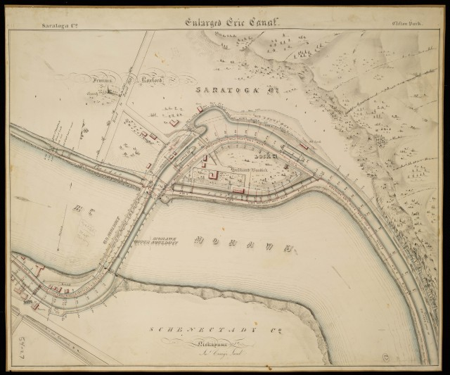 Historic map of the Rexford Crossing