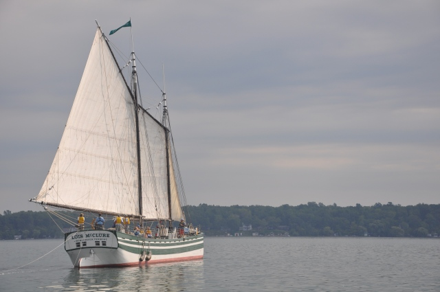 Sailing on Seneca Lake