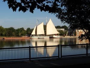 Sails set in Rochester