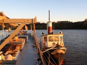 Anchored by Ticonderoga