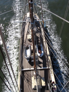 The view from the topmast