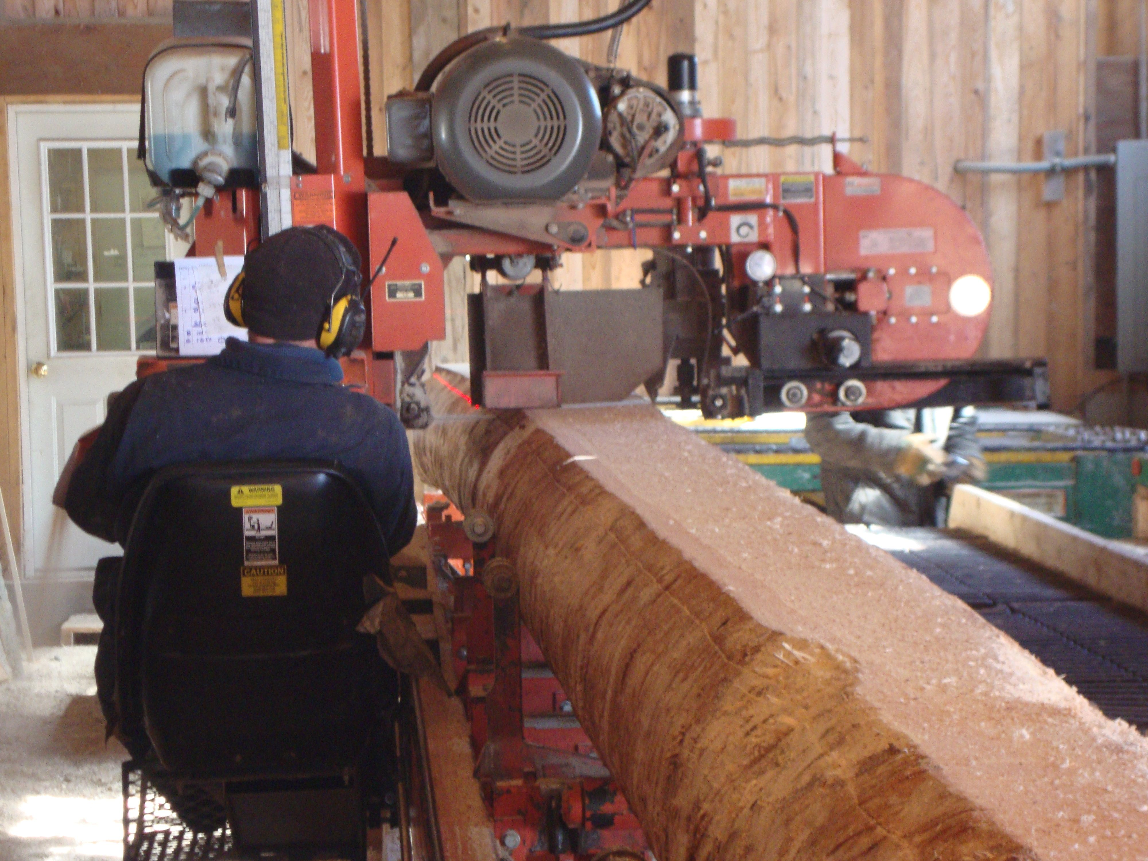 """the best spruce tree I've ever had the privilege to mill."""