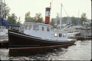 C. L. Churchill during its tenure at Shelburned Shipyard