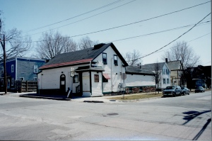 The Captain White Place as the Chickenbone Diner