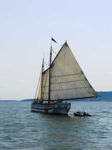Lois McClure under sail