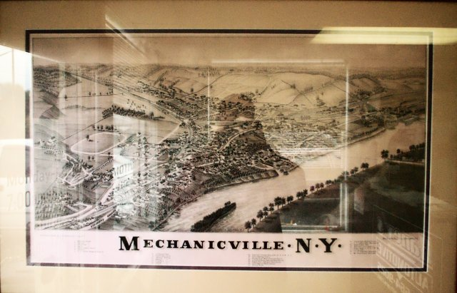 Map of Mechanicville