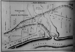 Fort Edward Survey Map