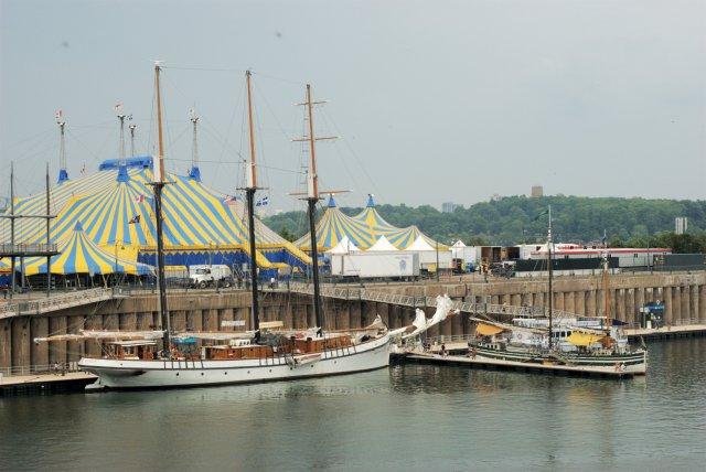 Schooners in the Old Port