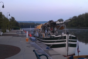 Docked in Little Falls