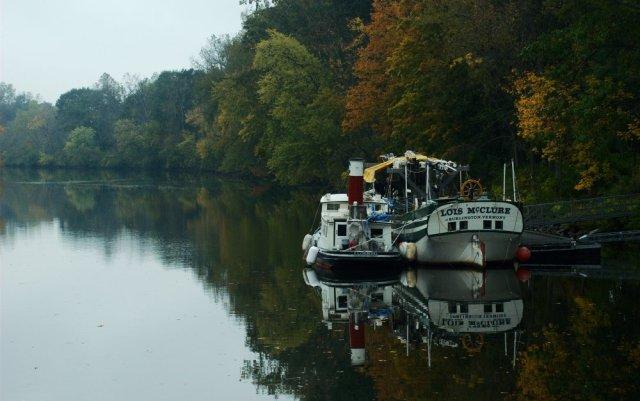 Docked in Schuylerville