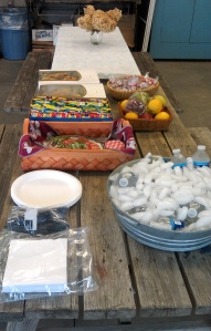 Lunch provided for us by the Friends of Fort Plain