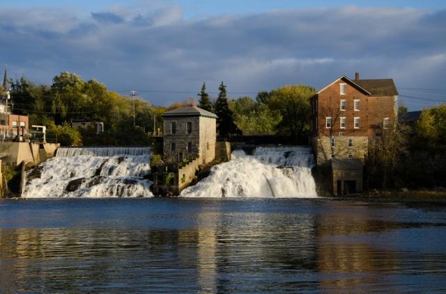 The falls at Vergennes (photo: Kris Jarrett)