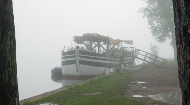 A misty morning in Plattsburgh (photo: Tom Larsen)