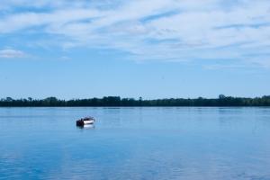 A calm Oneida Lake (photo: Tom Larsen)