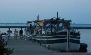 Docked safely in Cape Vincent (photo: Tom Larsen)