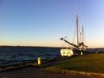 Docked in Prescott (photo: Tom Larsen)