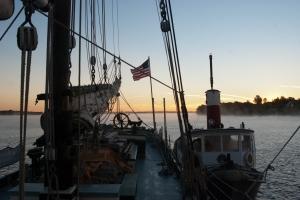 Dawn on the Raquette River (photo: Tom Larsen)