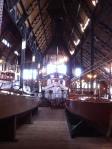 Inside the Boldt Yacht House (photo: Tom Larsen)