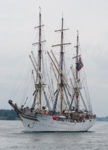 Norwegian ship SORLANDET (photo: Tom Larsen)