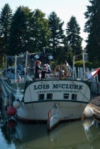 Docked in Chambly (photo: Tom Larsen)
